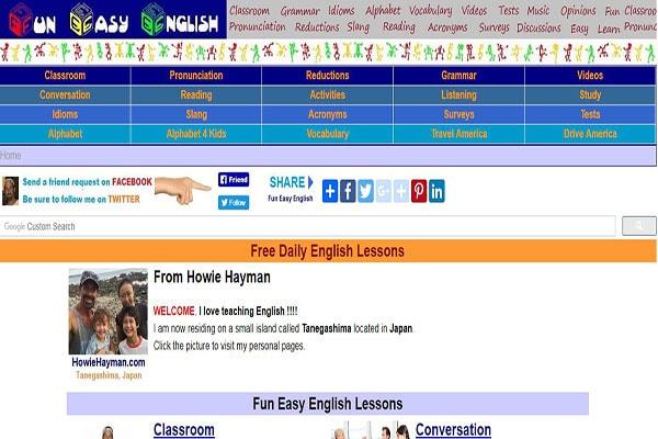 học tiếng anh online miễn phí
